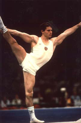 история олимпийских игр гимнастика